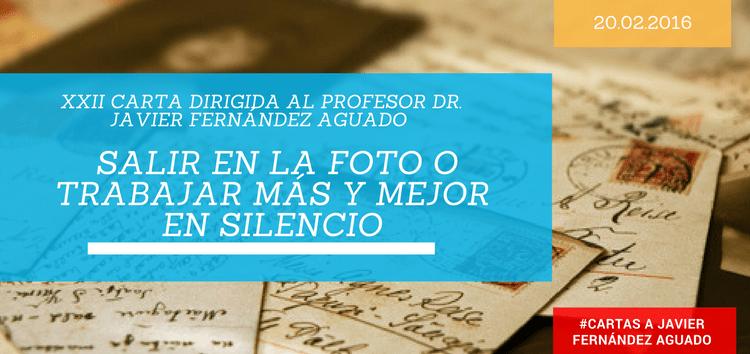 La vanidad de los directivos: salir en la foto o trabajar más y mejor en silencio