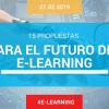 15 propuestas de AEFOL y EXPOELEARNING para el futuro del e-learning