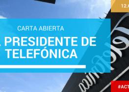 Carta abierta al Presidente de Telefónica – Don José María Álvarez-Pallete