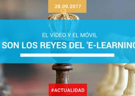 El vídeo y el móvil son los reyes del 'e-learning'