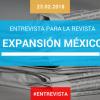 Entrevista para la revista EXPANSIÓN México