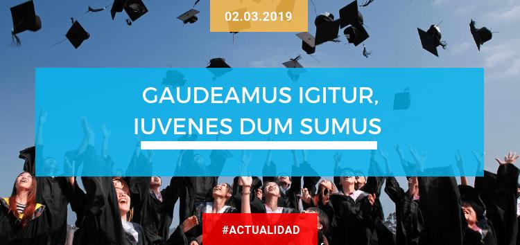 Gaudeamus igitur, iuvenes dum sumus