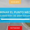 El Punto Negro de la carretera de Sant Cugat y Rubí