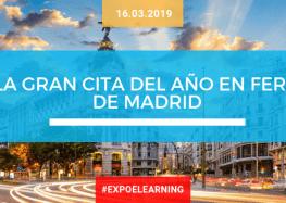 EXPOELEARNING, la gran cita del año en Feria de Madrid