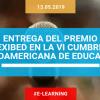 AEFOL recibe el Premio EXIBED en la VI Cumbre Iberoamericana de Educación, celebrada en Valencia