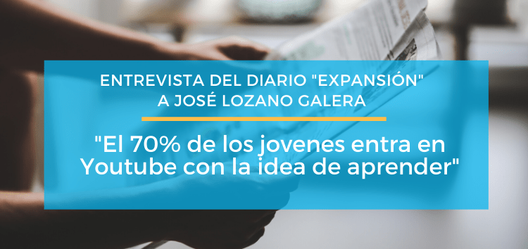 Entrevista para el diario EXPANSIÓN
