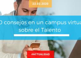 10 consejos en un campus virtual sobre el Talento