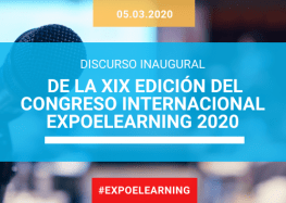 Discurso Acto de Inauguración XIX Congreso Internacional EXPOELEARNING 2020